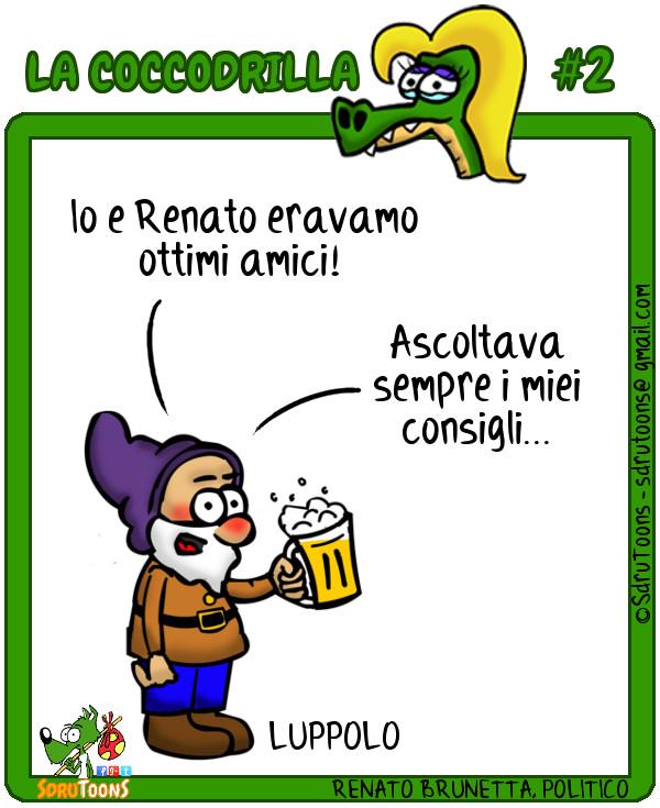 Coccodrilla 02 - Brunetta